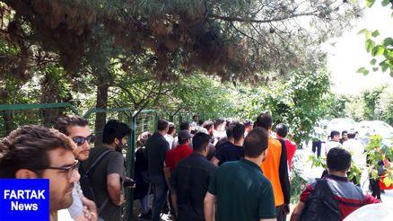 تجمع پرسپولیسی ها برای حمایت از برانکو