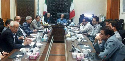 برگزاری جلسه شهردار کرمانشاه با انبوه سازان