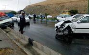 ۳ کشته و ۱۱ زخمی در تصادف زنجیره ای امروز اتوبان قزوین_زنجان