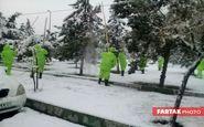 آمادهباش ۱۵۰۰ نیروی شهرداری برای برفروبی و پاکسازی معابر