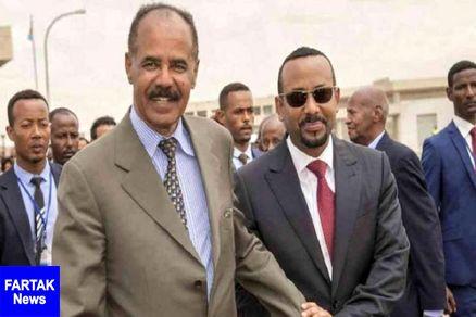 رئیس جمهوری اریتره وارد اتیوپی شد