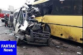 3 زائر اربعین در سانحه رانندگی جان باختند
