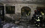 آتش سوزی در سنقروکلیایی باعث سوختگی اعضای یک خانواده شد
