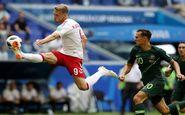 جام جهانی ۲۰۱۸  اولین امتیاز استرالیا در جام بیستویکم/ دانمارک با VAR متوقف شد