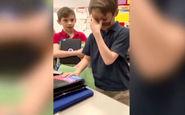 واکنش جالب کودک مبتلا به کوررنگی به دیدن رنگ برای اولین بار