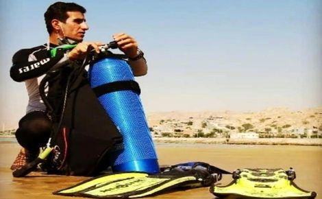 مرگ تلخ غواص فداکار بوشهری/ او جان بسیاری را نجات داده بود!
