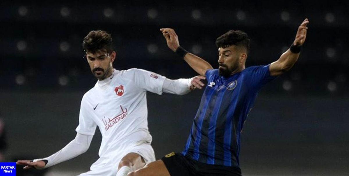 لیگ ستارگان قطر|رضاییان در ترکیب السیلیه مقابل یاران منتظری