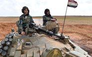 برافراشته شدن پرچم سوریه بر فراز منبج/ ارتش سوری در راه رقه و نزدیک مرزهای ترکیه