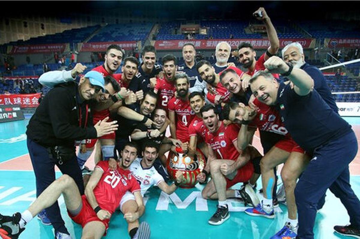ایران هشتمین تیم برتر جهان
