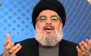 نصرالله توطئه آمریکا و همپیمانان عرب آن علیه آوارگان سوری را برملا کرد