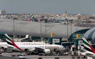 تغییر مسیر ۲ پرواز به فرودگاه بینالمللی دبی به دلیل احتمال وجود پهپاد