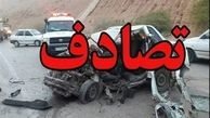 تصادف مرگبار پراید در جاده دماوند