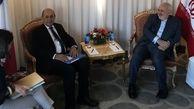 دیدار وزرای خارجه ایران و فرانسه در نیویورک