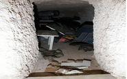 کشف مقر زیرزمینی النصره در نزدیکی حلب