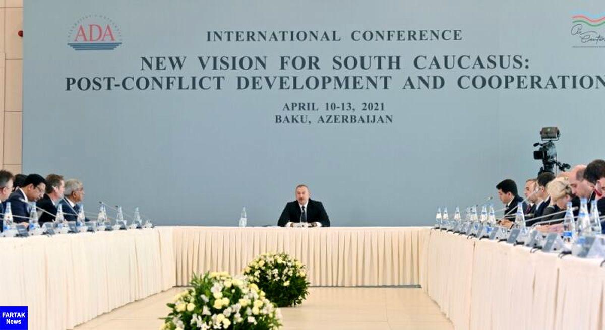 علی اف: آمریکا تعادل روابط باکو با ایروان را برهم زده است