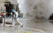 دود غلیظ حاوی گازهای مضر در نیویورک+فیلم