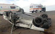 تصادف در جاده بافق - بهاباد یک کشته و چهار زخمی برجا گذاشت