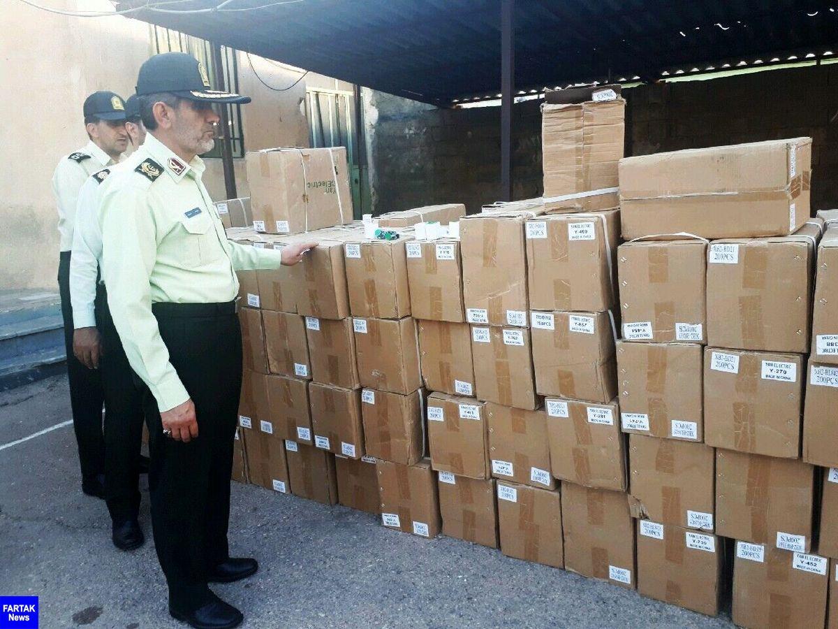 ۱۴ میلیارد تومان کالای قاچاق و داروی غیرمجاز در پایتخت کشف شد