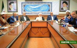 دیدار استاندار کرمانشاه و اعضای شورای اداری با نماینده ولی فقیه در استان به روایت تصویر