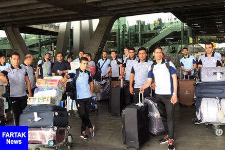 تیم فوتسال مس سونگون وارد بانکوک شد