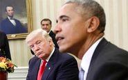 حمله توییتری ترامپ به اوباما