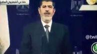 آخرین سخنان محمد مرسی قبل از خلع ید از قدرت